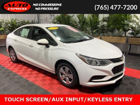 Pre-Owned 2017 Chevrolet Cruze L FWD 4D Sedan